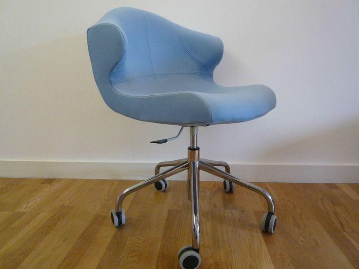 ligne roset alster pale blue wool fabric chair designed. Black Bedroom Furniture Sets. Home Design Ideas