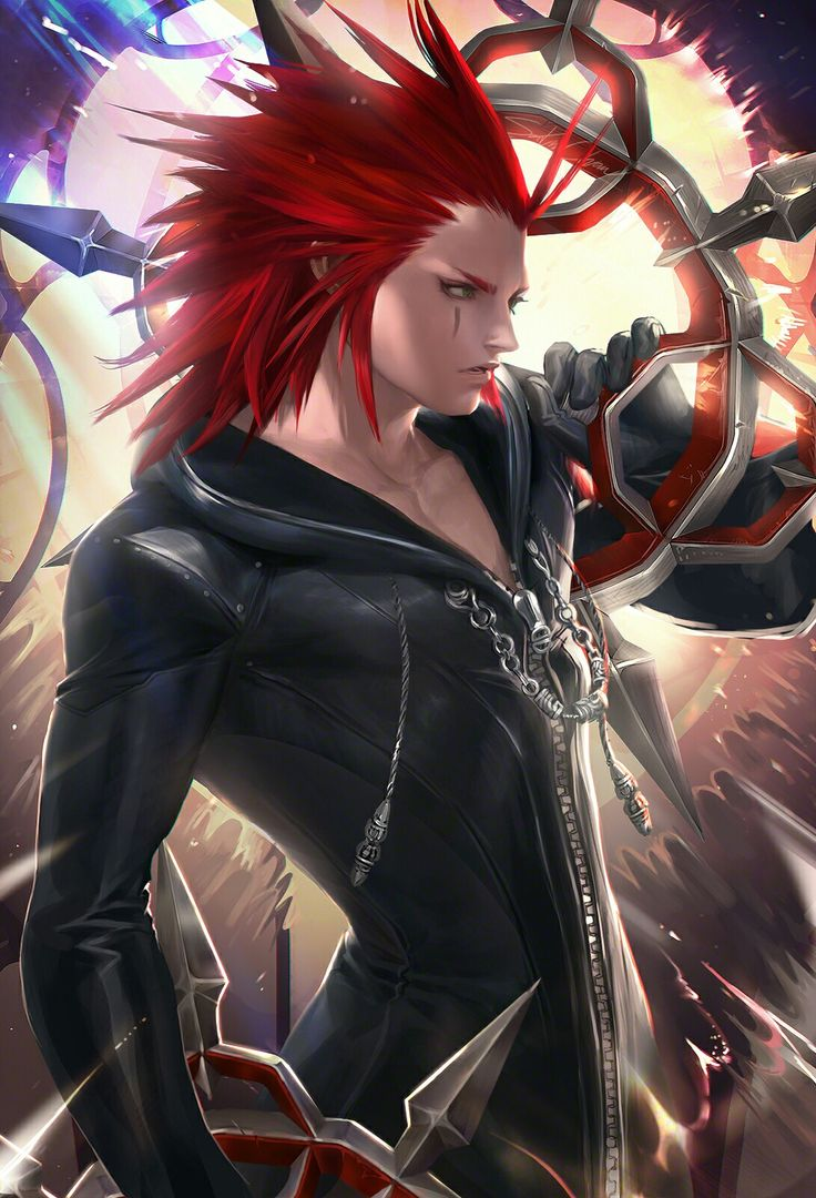 Axel's easily my favorite of the Nobodies, king of sass and an overall adorable characterization. Also I have a thing for sympathetic villains, so sue me.