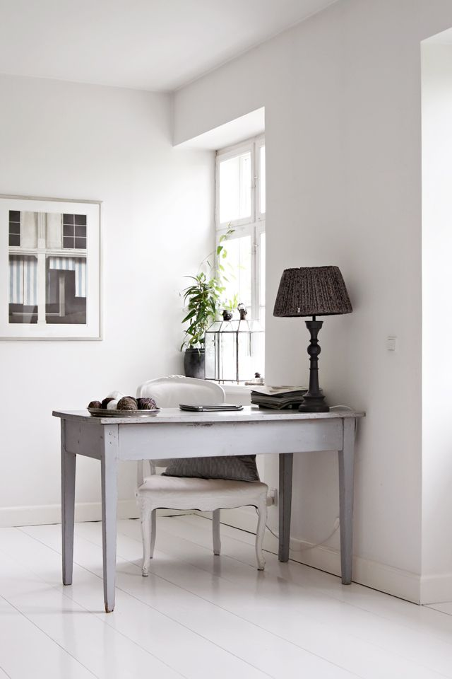 Tine K home working space. photo by Anna Malin