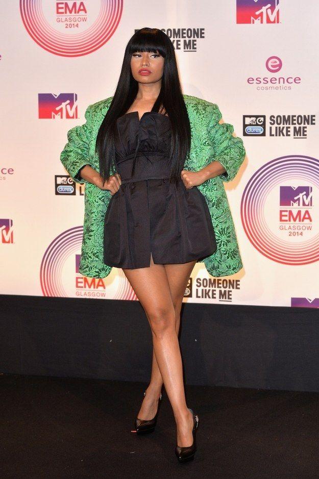 Nicki Minaj At The 2014 MTV EMA's