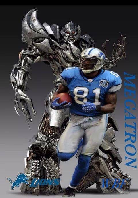 The Detroit Lions!!!