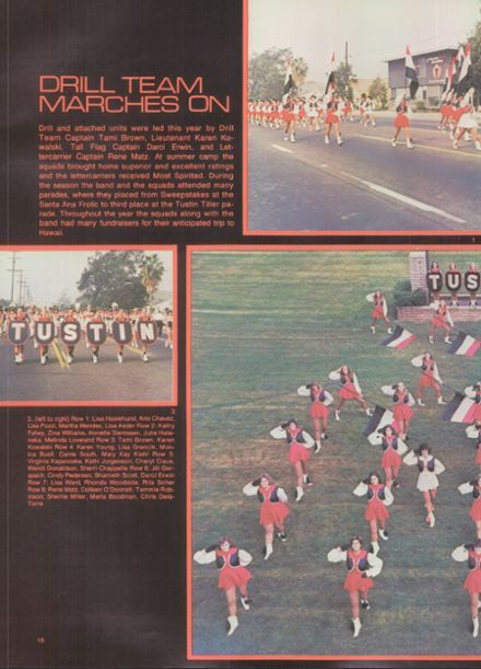 1981 Tustin High School Yearbook via Classmates.com