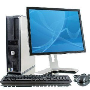 """Dell Optiplex GX620 Intel Pentium 4 2800 MHz 40Gig Serial ATA HDD 1024mb DDR2 Memory DVD ROM Genuine Windows XP Professional + 17"""" Flat Panel LCD Monitor Desktop PC Computer Professionally Refurbished by a Microsoft Authorized Refurbisher > Click on the image for latest offers."""