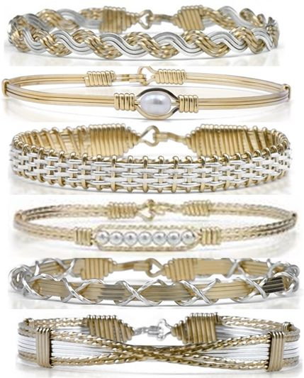 Ronaldo Jewlery bracelets are handcrafted with 14K and silver pieces are incredible! Soo many styles to choose from! See it in store today!- Stephens Exclusives! Which one is your favorite?