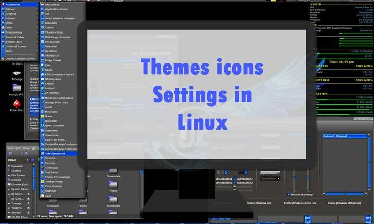 How to Use Themes Icons on Various #Linux Desktop PC Laptops