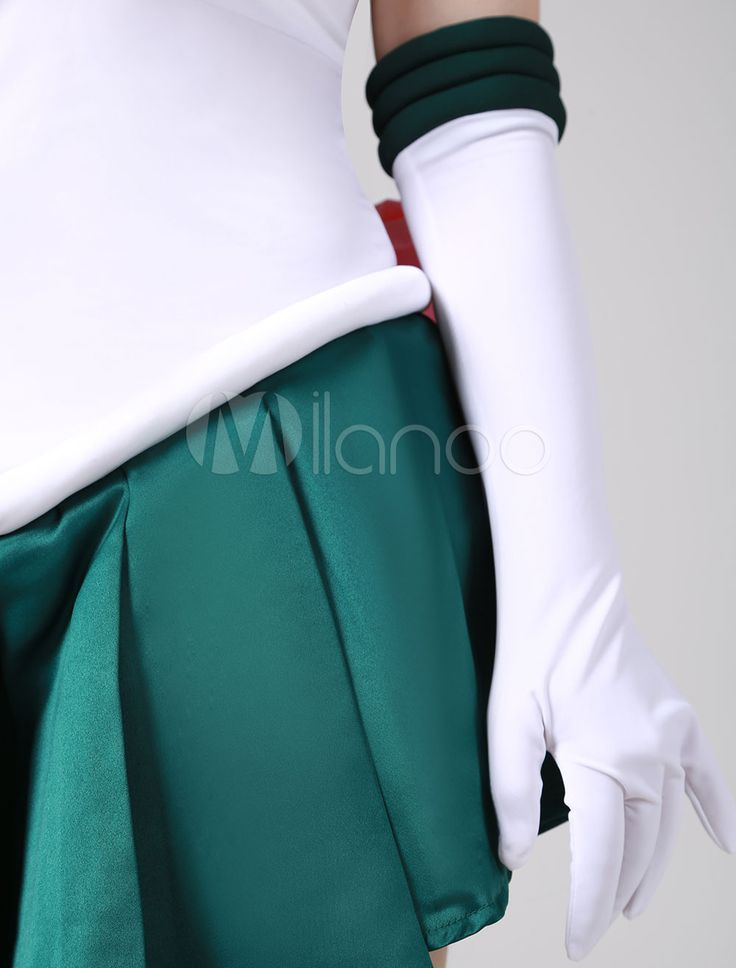 Traje para cosplay de Sailor Moon de Sailor Jupiter de Sailor Moon - Milanoo.com