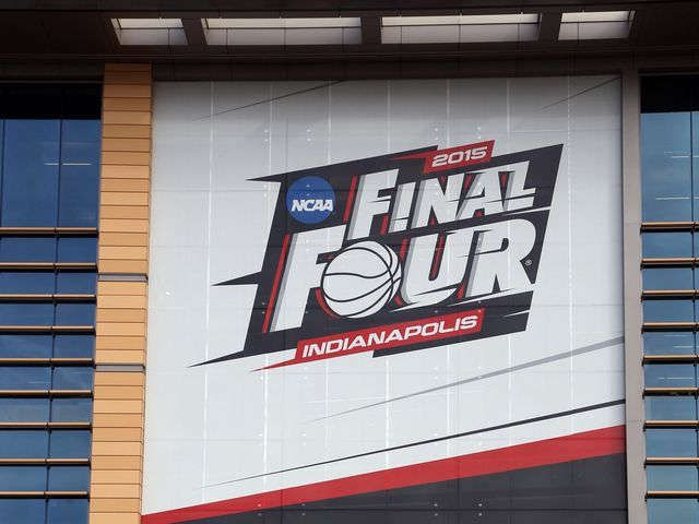 """As Final Four nears, NCAA opposes Indiana religious freedom law The NCAA is """"especially concerned"""" by a recently enacted law in Indiana, which hosts this year's Final Four, that grants businesses the right to refuse service to gay and lesbian couples,"""
