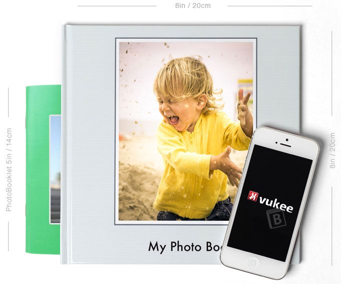 Vukee Photo Book App Makes It Easy To Create And Order Photo Books From Your Phone!