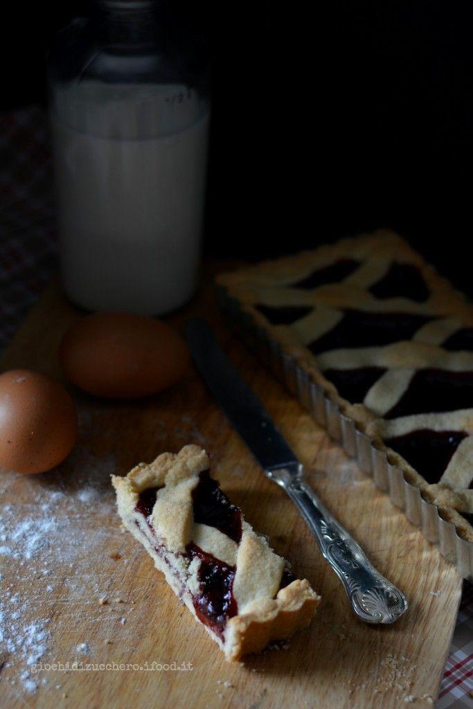 Crostata con Farina di Riso e Marmellata