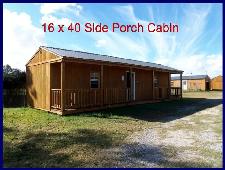 16 x 40 side porch cabin on nome lot cottage pinterest for 20 x 40 cabin