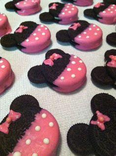 Aprende cómo hacer bocadillos de minnie mouse para cumpleaños ~ lodijoella