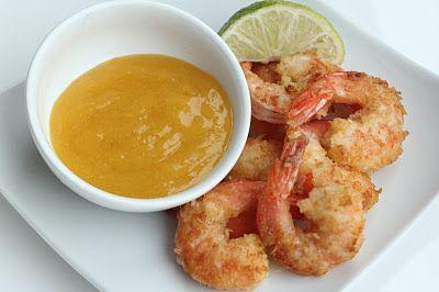 Coconut Shrimp with Orange Marmalade - Maria Mind Body Health