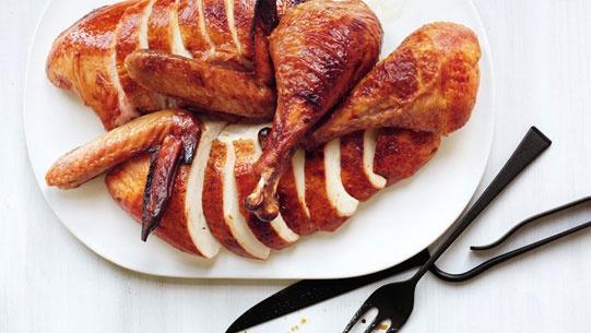 Cider-Brined Turkey #thanksgiving #recipe via @Bon Appetit Magazine