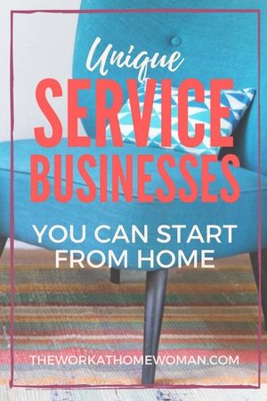 Not all business require large startup fees or selling a product. If you have any hobbies or creative skills you could offer as a service, you can start a home-based service business with almost nothing down.