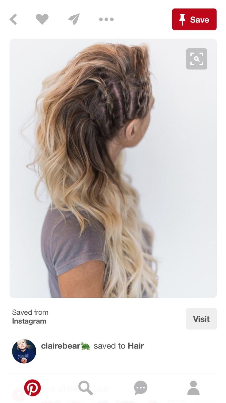 I need thicker hair so I can do this!!