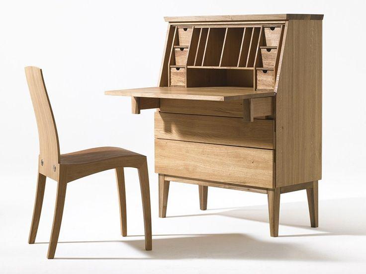 Wooden secretary desk Emily Collection by sixay furniture | design Szikszai László
