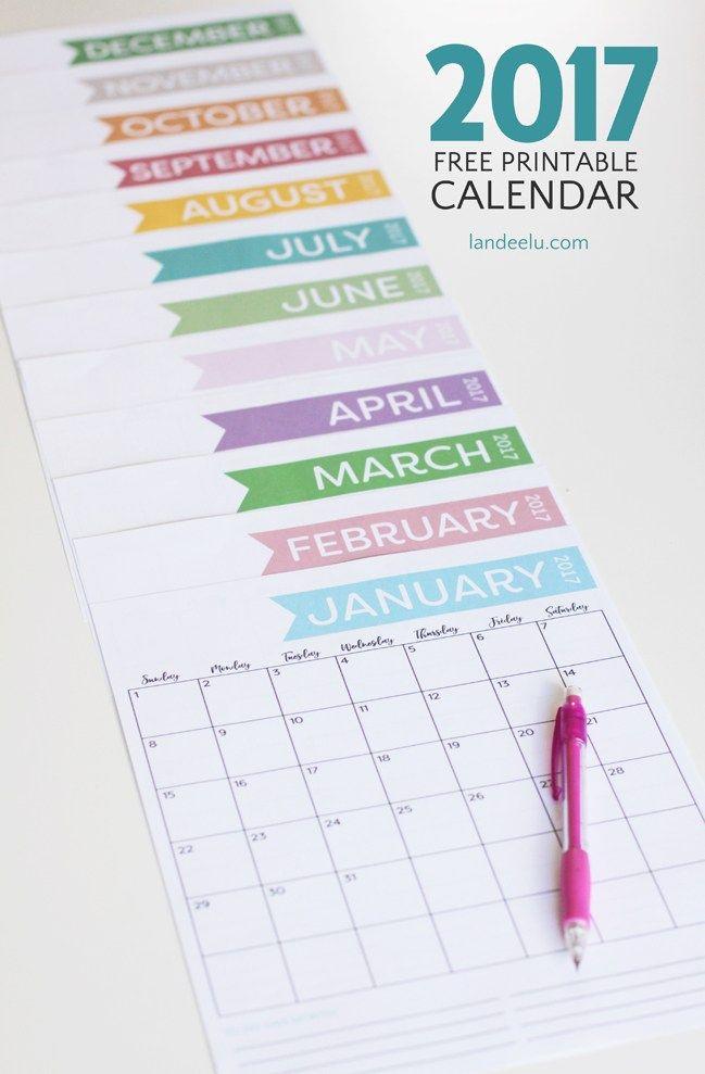 2017-Free-Printable-Calendar-Vertical.jpg 649×989 pixels