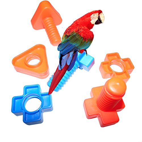 how to make macaw bird toys