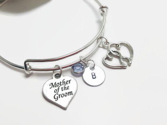 Mother of the groom bracelet  Bridal bracelet  by CulturedCurio