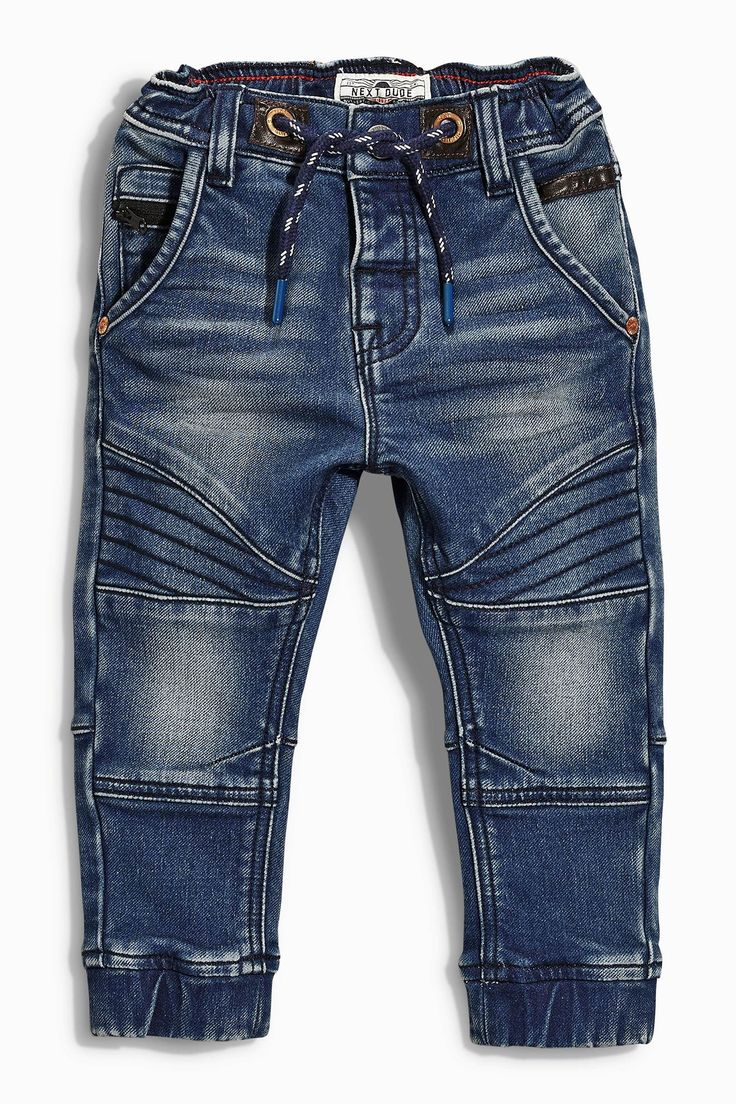 Buy Jersey Biker Pull-On Jeans (3mths-6yrs) from the Next UK online shop