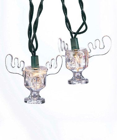 Look what I found on #zulily! National Lampoon's Christmas Vacation Moose Mug String Lights #zulilyfinds