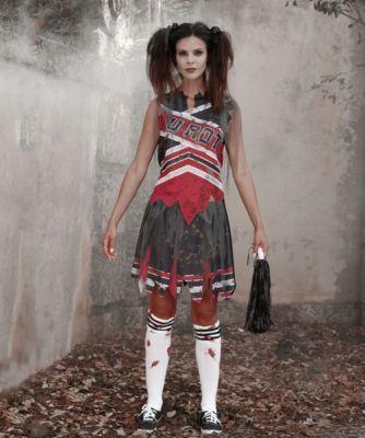 womens zombie cheerleader costume · Woman CostumesDiy CostumesHalloween
