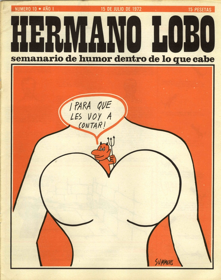 Hermano Lobo Número 10 · Año I   (15 de Julio de 1972)