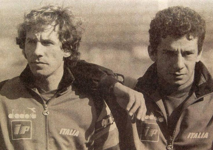 Franco Baresi e Gianluca vialli