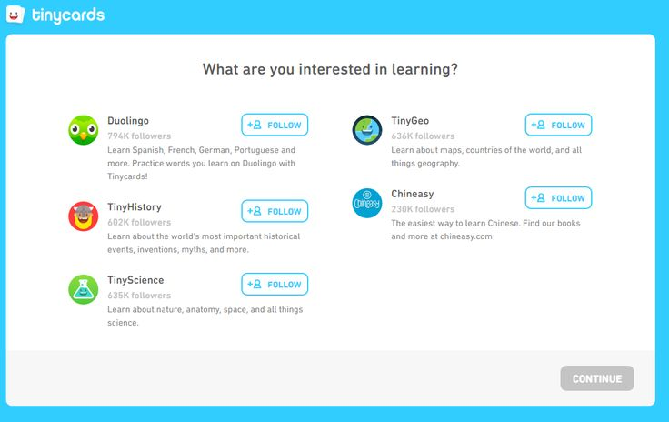 Tinycards  is a free service from Duolingo that provides quick review activities in your web browser or on your iPad . Tinycards are essen...