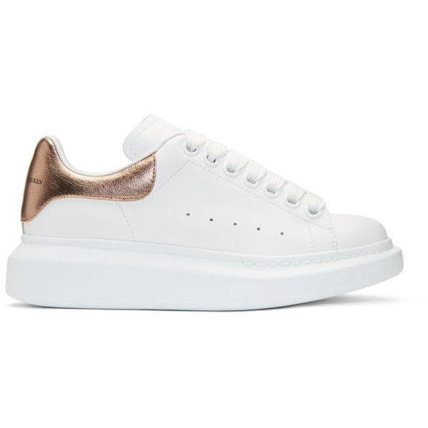 Alexander McQueen 'Oversized' Sneakers Gold online kaufen