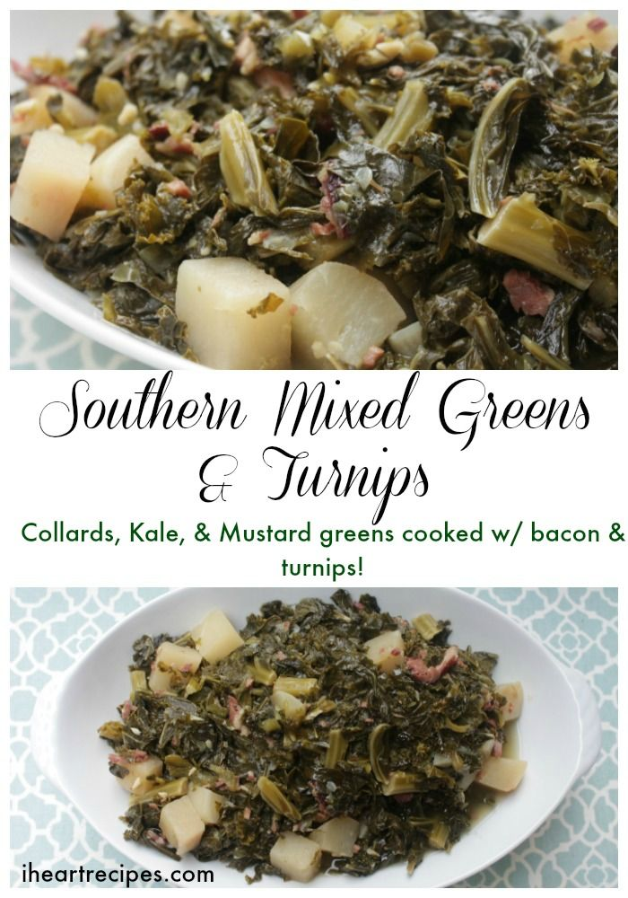 Southern Mixed Greens & Turnips