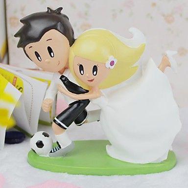 Decoración de Pasteles Pareja Clásica Resina Matrimonio / Despedida de Soltera Tema Asiático Caja de regalo – USD $ 17.99
