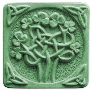 Celtic Clover Soap Mold.