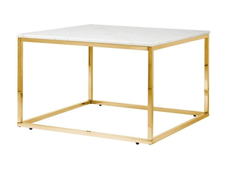 Carrie är ett snyggt soffbord i modern design. Soffbordet har en toppskiva i äkta vit marmor och benen är i mässinglackerat metallunderrede. Carrie soffbord passar in i ett hem där design och inredning är av stor vikt. Fri hemleverans hos Stonefactory.se