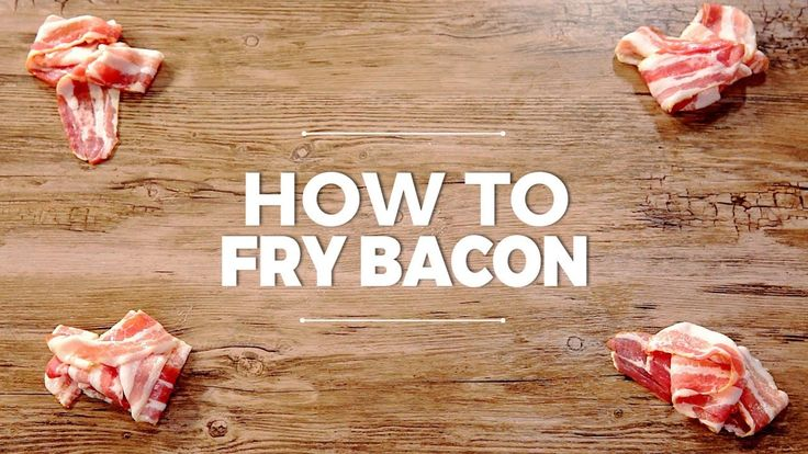 You think it's easy to fry bacon? You are right. It is. Here is what you need to know.  --------------------- Follow us on: Facebook: http://sodl.co/2dRsH0l Instagram: http://sodl.co/2eMvdCP  Twitter: https://twitter.com/sodlco  Pinterest: http://sodl.co/2jq3kHY