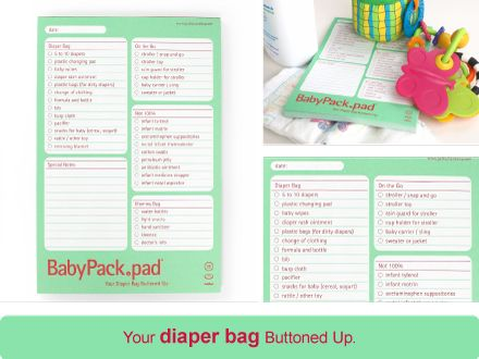 @Tabetha Foose, Diaper Bag List. yes? we could totally make this in word.