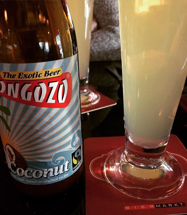 Thank you @biermarktmtl for bringing @mongozo_beers Coconut Beer back after I annoyed you on Twitter for months.
