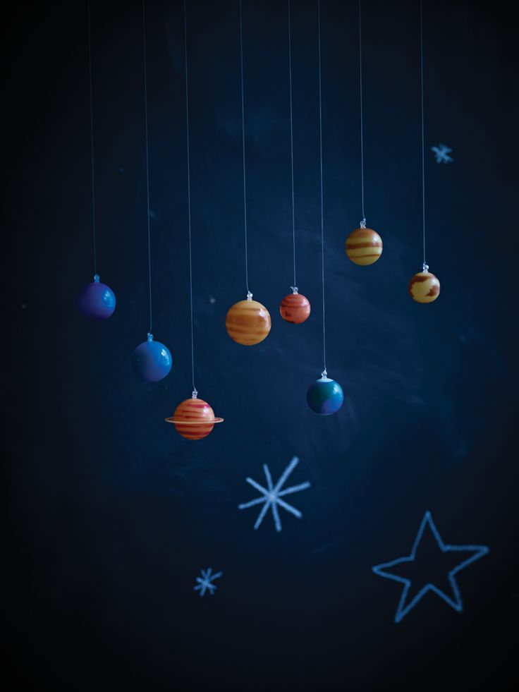 The 17 best images about astrology room ideas on pinterest - Hanging planets decorations ...