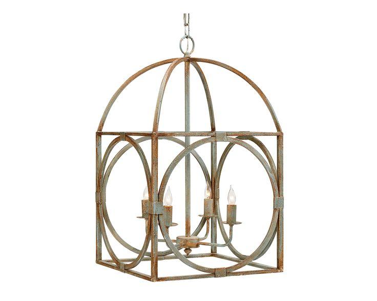 Magnolia Home - Metal Birdcage Chandelier