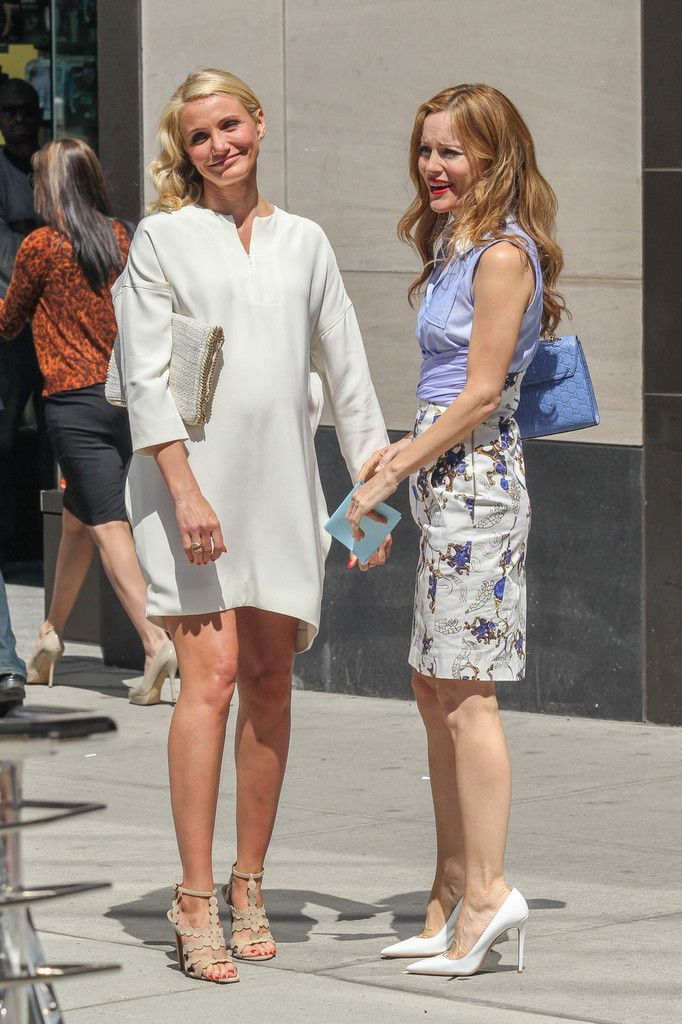 Cameron Diaz - Cameron Diaz and Leslie Mann Film The Other Woman