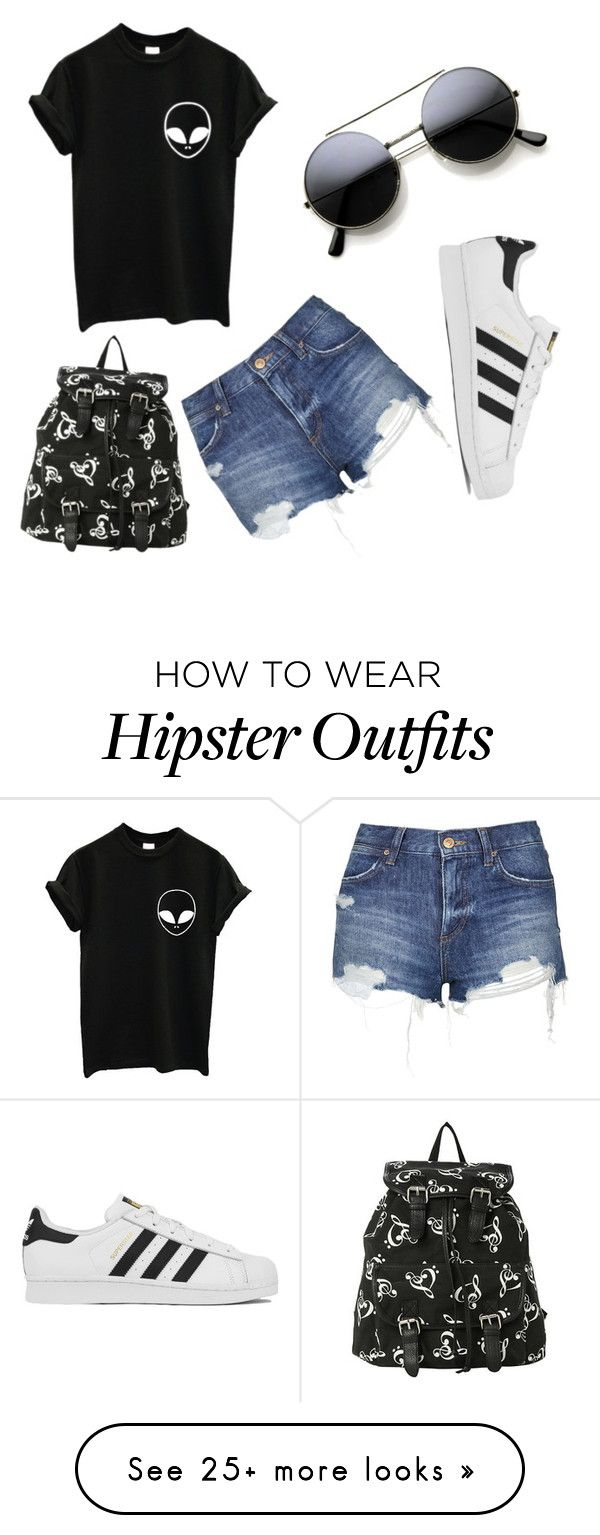 """""""Every day look"""" by ashleynmitchinlove on Polyvore featuring adidas, Topshop, women's clothing, women's fashion, women, female, woman, misses and juniors"""