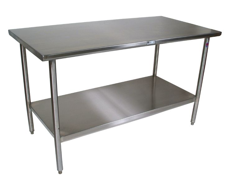 $784 Stainless Steel Work Table John Boos @Butcher Block Co.  Www.butcherblockco.