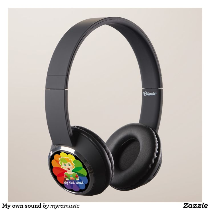 My own sound Headphones. Música, music. Producto disponible en tienda Zazzle. Tecnología. Product available in Zazzle store. Technology. Regalos, Gifts. #headphones #sound #music