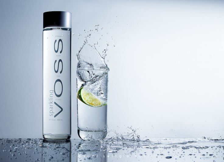 Northern Virginia Product Photography | Kami Swingle | Voss Sparkling Water