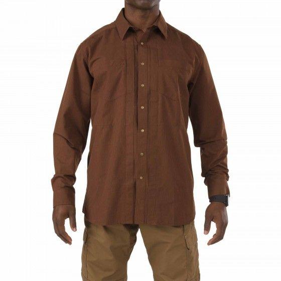 Covert Herringbone Shirt