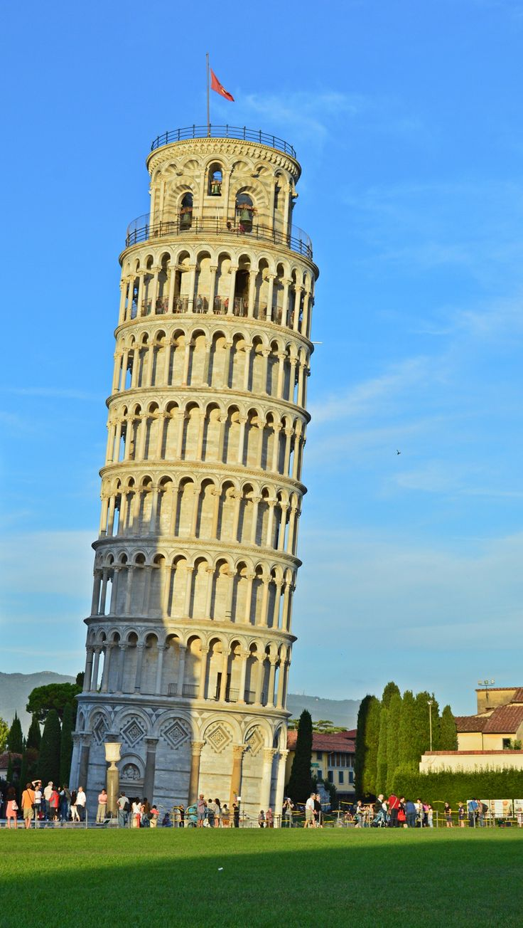 Torre pendente di Pisa #Tower of #Pisa #Italy