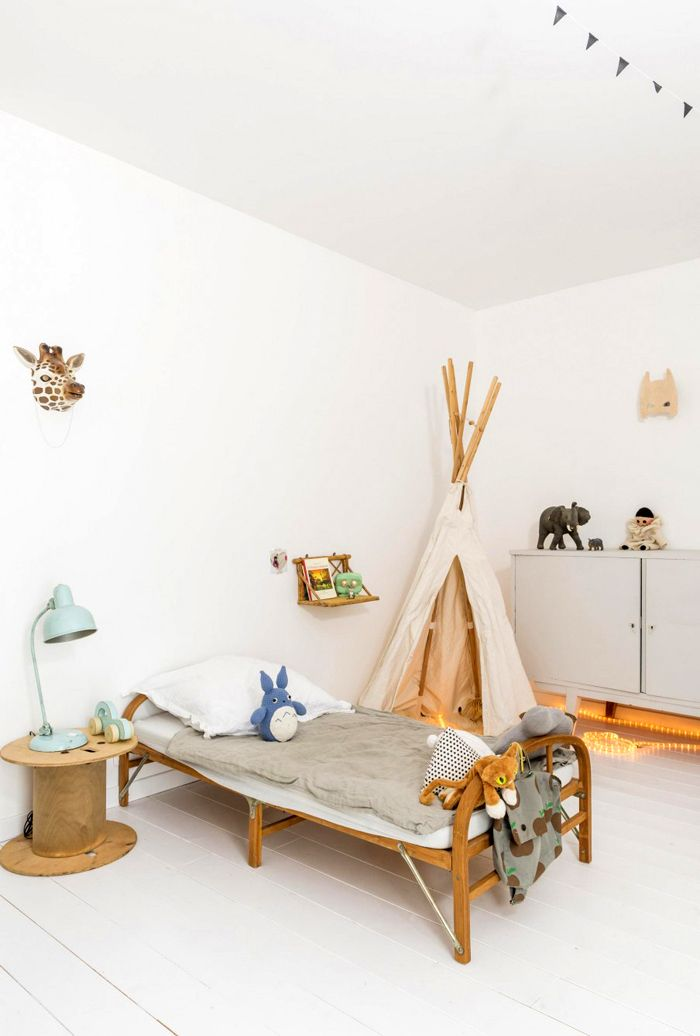 natural materials in kids deco photo Julien Fernandez et Amandine Berthon