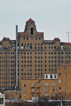 Extremely haunted abandoned hotel. The Baker Hotel in Mineral Wells, TX. opened in 1929, closed in 1972.