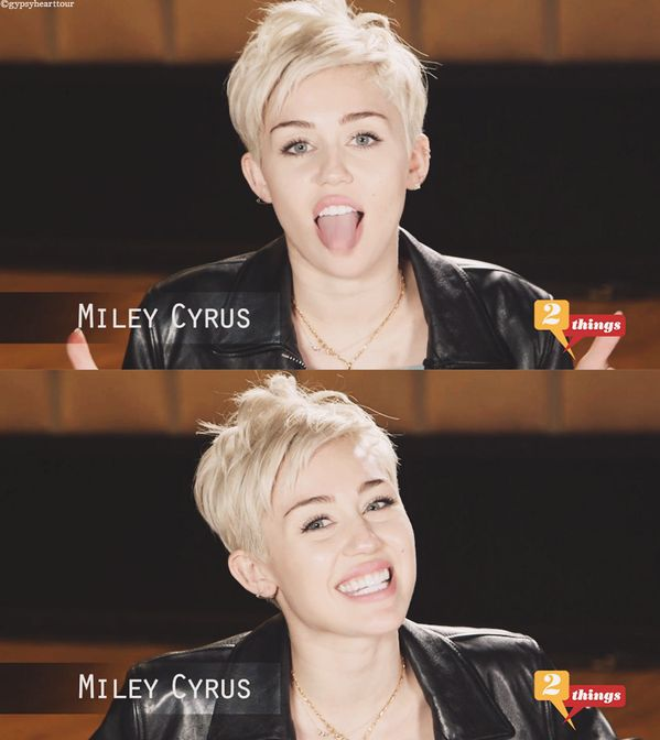 Miley Cyrus , she is just so beautiful & is who she wants to be. I love her so much :) !