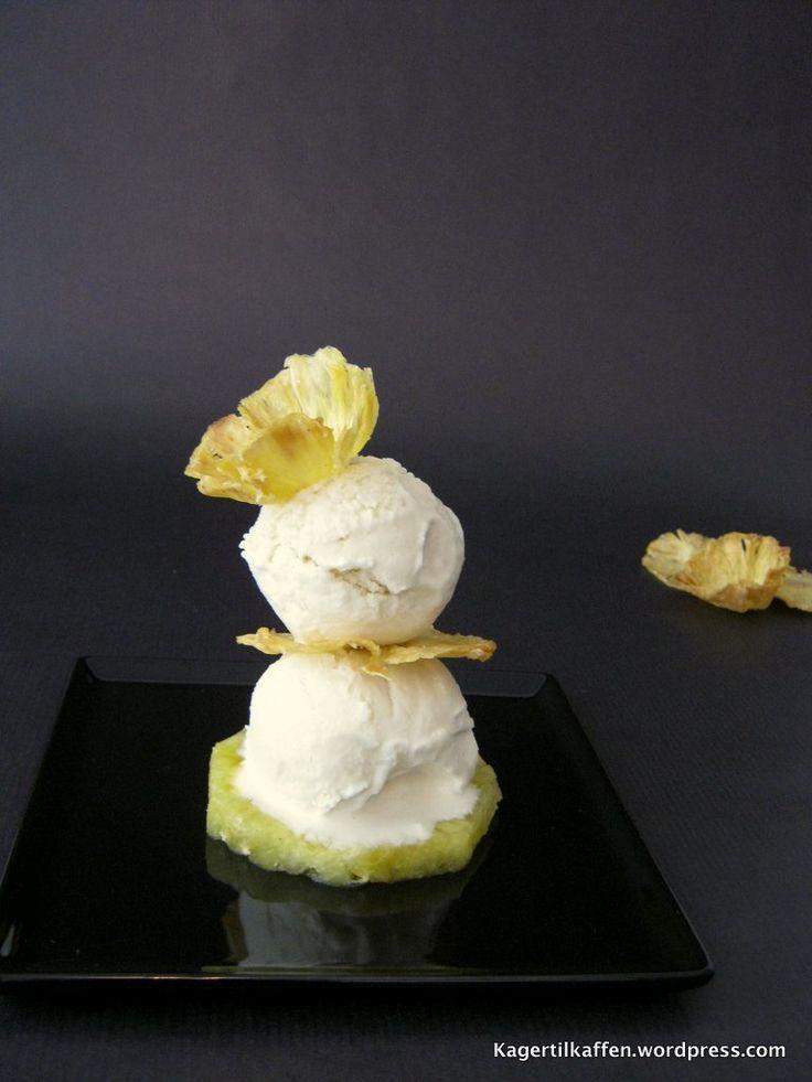 Piña Colada dessert